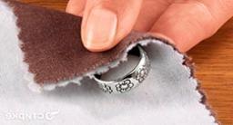 Чистка серебра перекисью водорода